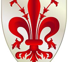 Coat of Arms of Florence  by abbeyz71