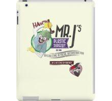 Mr. J's Plastic Surgery iPad Case/Skin
