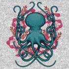 Octupus & Coral by erdavid