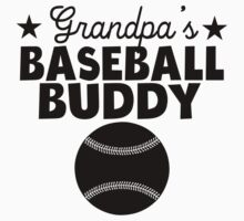 Grandpa's Baseball Buddy Kids Tee
