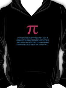 Pi 3.142 π Mathematics T-Shirt - Greek Letter Pi Top T-Shirt