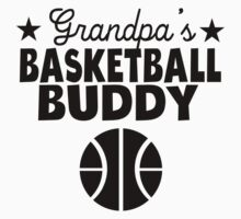 Grandpa's Basketball Buddy One Piece - Short Sleeve