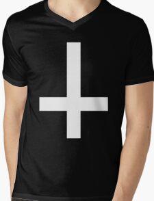 Peter's Cross Mens V-Neck T-Shirt