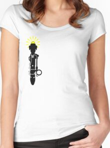 River Song's Sonic Screwdriver Women's Fitted Scoop T-Shirt