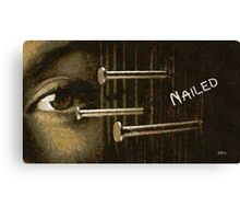 Nailed Canvas Print