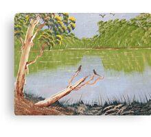 Green River scene Canvas Print