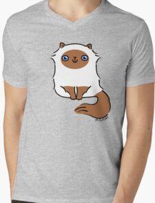Little Fluffy Kitten ... himalayan Mens V-Neck T-Shirt