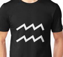 Aquarius (astrology) Unisex T-Shirt