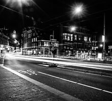 Amsterdam by night by RMarks