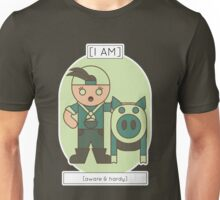 The Aware and Hardy Unisex T-Shirt