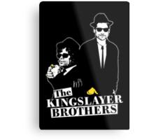 The Kingslayer Brothers Metal Print