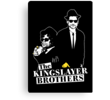 The Kingslayer Brothers Canvas Print