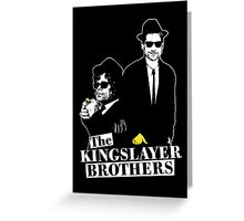 The Kingslayer Brothers Greeting Card