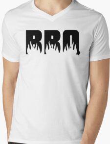 BBQ Flames Mens V-Neck T-Shirt
