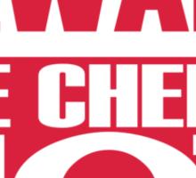 Beware the chef is hot Sticker