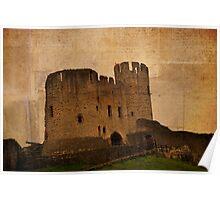 Dudley castle, Dudley, UK Poster