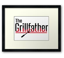 The grillfather Framed Print