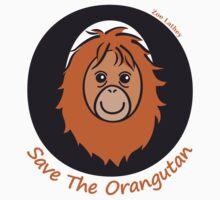 Save the Orangutan Kids Tee