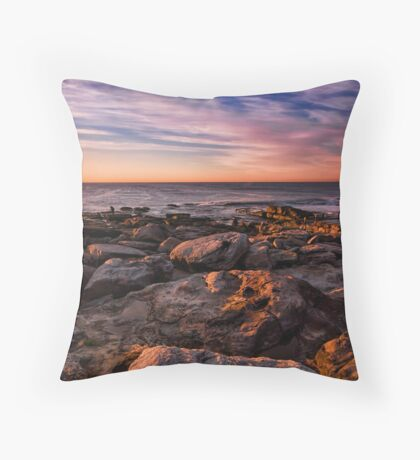Rocks by the Pool Throw Pillow