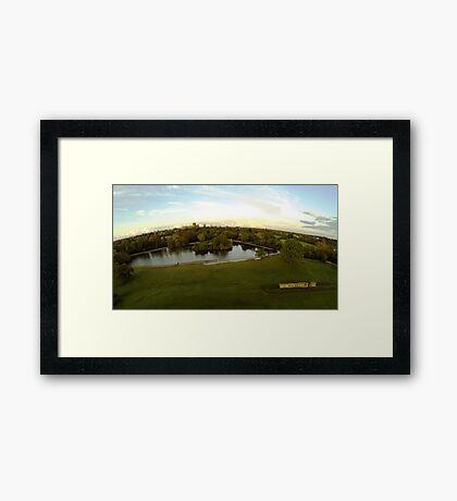 Above St Albans Framed Print