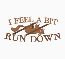 I feel a bit run down dead possum by jazzydevil