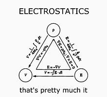 Electrostatics thats pretty much it [LIGHT] Unisex T-Shirt