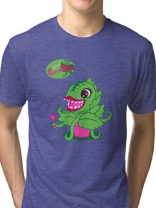 Littlest Horror Shop Tri-blend T-Shirt