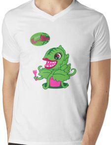 Littlest Horror Shop Mens V-Neck T-Shirt