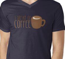I dream of COFFEE  Mens V-Neck T-Shirt
