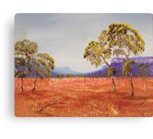 Golden Plains Canvas Print