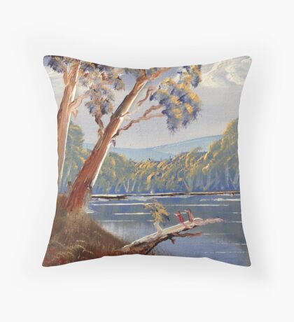 Red River Gums Throw Pillow
