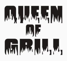 Queen of Grill One Piece - Long Sleeve