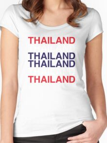 THAILAND Women's Fitted Scoop T-Shirt