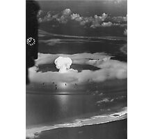 Mushroom Cloud Operation Crossroads Nuclear Weapons Test (July 1946) Photographic Print