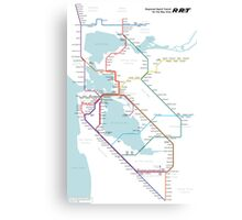Regional Rapid Transit for the Bay Area Canvas Print