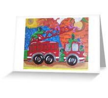 Fire Engine II Greeting Card