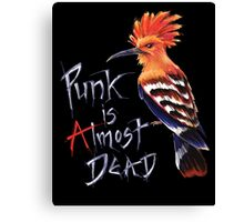 Punk is almost dead Canvas Print