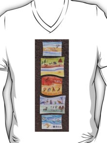 Puzzle Painting Animals from Earth T-Shirt