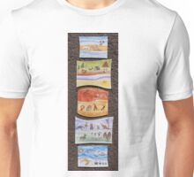 Puzzle Painting Animals from Earth Unisex T-Shirt