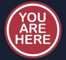 You Are Here by BurchfielDesign