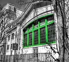Green Window by the Canal !!  by Boodzz
