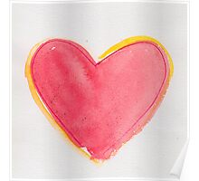 one big red heart Poster