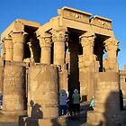 Temple Of Luxor by Nancy Richard