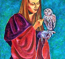 Madona With Owl by ivDAnu