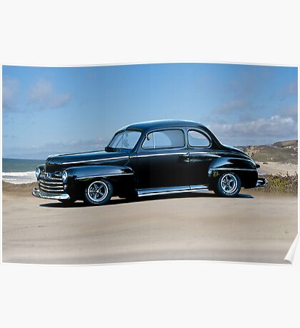 1947 Ford 'Fat Fender' Coupe Poster
