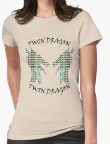 twin dragon Womens Fitted T-Shirt