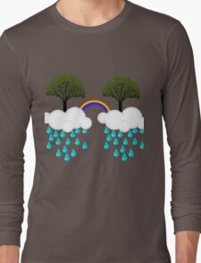 rainbow tree Long Sleeve T-Shirt