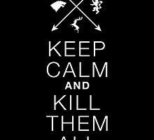 Keep calm and kill them all. by spoll