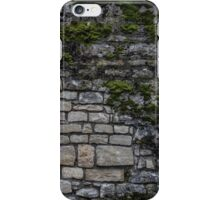 Mossy Brick Wall iPhone Case/Skin
