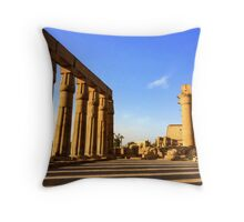 Temple of Luxor, Egypt Throw Pillow